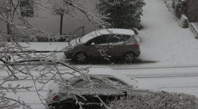 Schnee räumen – bloß kein Salz